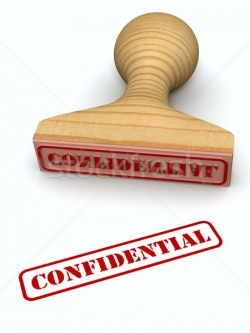 A Word about Confidentiality